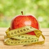 бюрократизм яблока измеряя Стоковые Фото