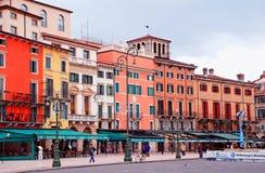Бюстгальтер аркады, Верона, Италия стоковая фотография