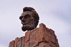Бюст головы Линкольна стоковая фотография