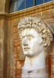 бюст Давид rome стоковое изображение