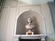 Бюст Джорджа Вашингтона, сделанный 1815 Стоковое Изображение RF