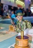 Бюст масштабной модели американского солдата от Вьетнама Стоковые Фотографии RF
