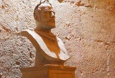 Бюст мрамора Diocletian императора Стоковые Фото
