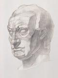 Бюст статуи Gatamelata Стоковые Фото