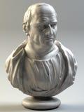 бюст Цицерон стоковые фотографии rf