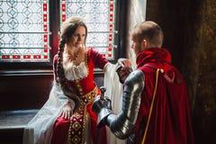 Благородный Betrothal Стоковое Изображение