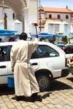 Благословение автомобиля в Copacabana, Боливии Стоковая Фотография RF