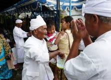 Благословение Hindus Стоковая Фотография