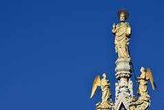 Благословение St Mark с ангелами Стоковые Изображения RF