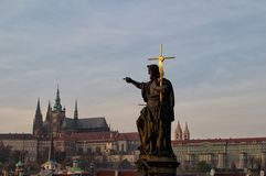 Благословите вас Прага Стоковая Фотография