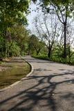 Благоустраиванный парк Стоковое Изображение RF