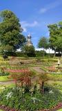 Благоустраиванный Sunken сад стоковые фотографии rf