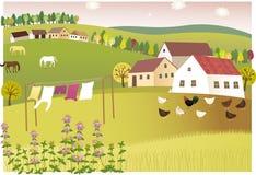Благоухание летнего дома бесплатная иллюстрация