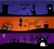 Бленды хеллоуина Стоковое Изображение