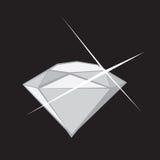 Блеск диаманта Стоковые Изображения RF
