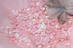 Блесточки с цветком Стоковое Фото