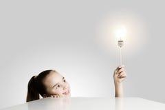 блестящая идея Стоковая Фотография RF