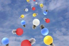 Блестящие идеи Стоковое фото RF