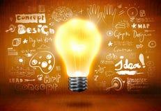 блестящие идеи Стоковое Изображение