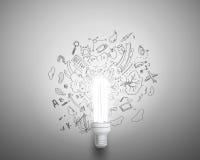 блестящие идеи Стоковое Изображение RF