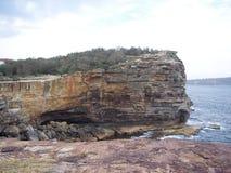 Блеф зазора в Сиднее, Австралии Стоковая Фотография RF