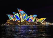 близкая опера Сидней дома вверх Стоковое Изображение