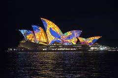 близкая опера Сидней дома вверх Стоковые Фото