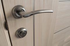 близкая ручка двери снятая вверх Стоковое фото RF