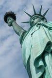 близкая статуя вольности вверх Стоковое Фото