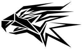 близкая стойка головки орла стоя вверх Стоковое Изображение