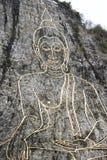 Близкая съемка изображения Будды Стоковые Фотографии RF