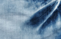 близкая текстура съемки джинсыов вверх Стоковое Изображение RF