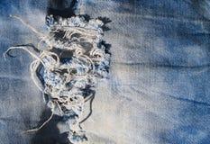 близкая текстура съемки джинсыов вверх Стоковые Изображения