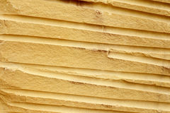 близкая текстура Украина песчаника песка вверх по стене Стоковые Фото