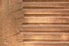 близкая текстура Украина песчаника песка вверх по стене Стоковые Изображения RF