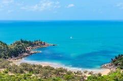 Близкий взгляд залива Флоренса в магнитном острове, Австралии Стоковые Фотографии RF