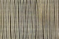Близкий взгляд пакостного воздушного фильтра автомобиля Стоковые Фотографии RF