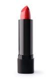 близкий красный цвет губной помады вверх Стоковые Изображения RF