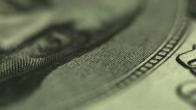 близкий доллар вверх Глаза u S президент сток-видео