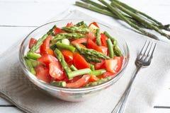 близкий салат снятый вверх по овощу Стоковое Изображение