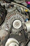 Близкий снимок показа двигателя автомобиля Стоковые Фотографии RF