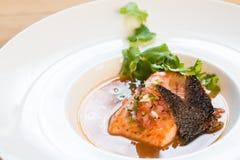 близкий суп съемки рыб вверх Стоковые Фото