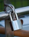 близкий padlock вверх Стоковые Изображения RF