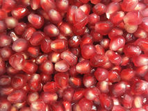 близкий pomegranate вверх Стоковые Фото