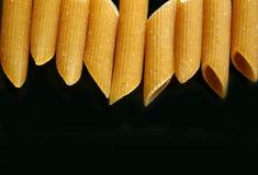 близкое penne макаронных изделия вверх Стоковые Фото
