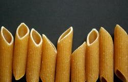 близкое penne макаронных изделия вверх Стоковое Изображение RF