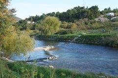 Близко разделенное река, Хорватия Jadro Стоковое Изображение