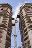 2 близко расположенных многоэтажного здания Стоковое Изображение