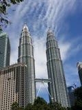 близнец башни petronas стоковая фотография rf