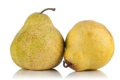 близнец груш здоровья плодоовощ Стоковое Изображение RF